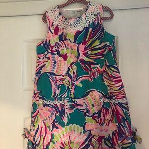 EUC girls Lilly Pulitzer classic shift dress